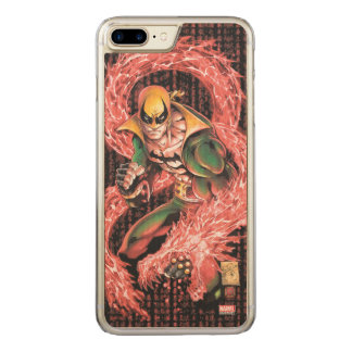 Iron Fist Chi Dragon Carved iPhone 8 Plus/7 Plus Case