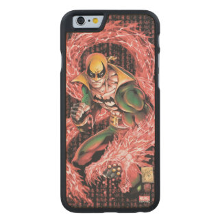 Iron Fist Chi Dragon Carved Maple iPhone 6 Case