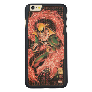 Iron Fist Chi Dragon Carved Maple iPhone 6 Plus Case