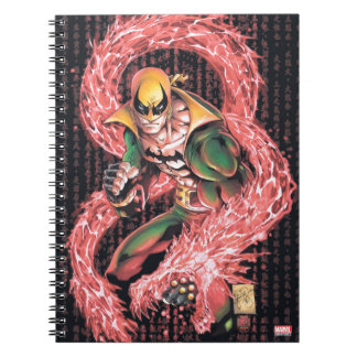 Iron Fist Chi Dragon Notebook