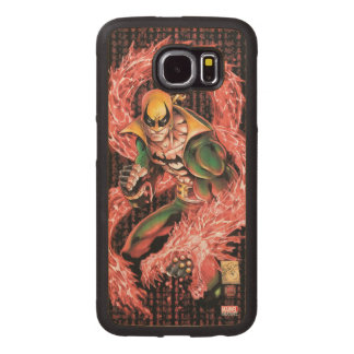 Iron Fist Chi Dragon Wood Phone Case