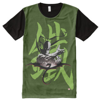Iron Fist Chinese Name Graphic All-Over-Print T-Shirt