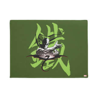Iron Fist Chinese Name Graphic Doormat