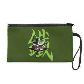 Iron Fist Chinese Name Graphic Wristlet