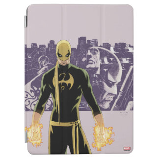 Iron Fist City Silhouette iPad Air Cover