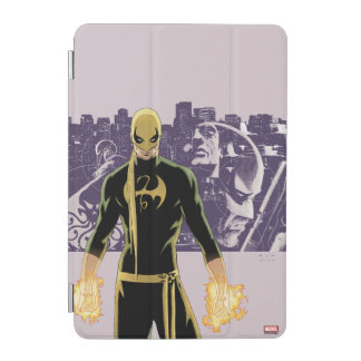 Iron Fist City Silhouette iPad Mini Cover