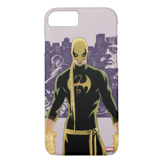Iron Fist City Silhouette iPhone 7 Case