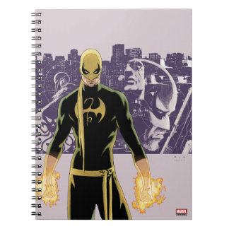 Iron Fist City Silhouette Notebook