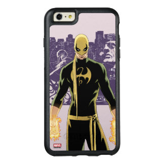 Iron Fist City Silhouette OtterBox iPhone 6/6s Plus Case
