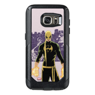 Iron Fist City Silhouette OtterBox Samsung Galaxy S7 Case