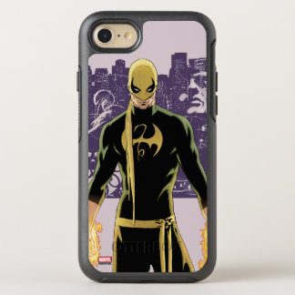 Iron Fist City Silhouette OtterBox Symmetry iPhone 7 Case