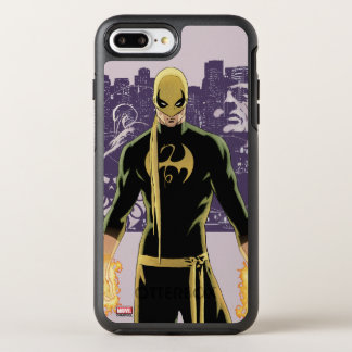 Iron Fist City Silhouette OtterBox Symmetry iPhone 7 Plus Case