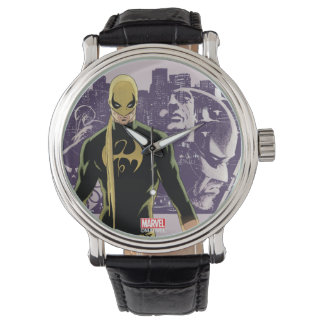 Iron Fist City Silhouette Watch