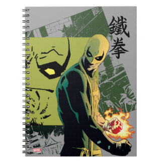 Iron Fist Comic Book Graphic
