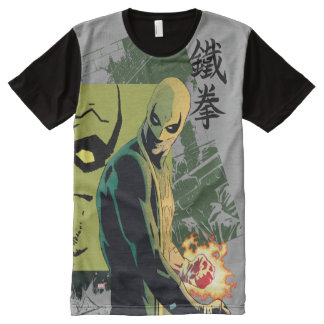 Iron Fist Comic Book Graphic