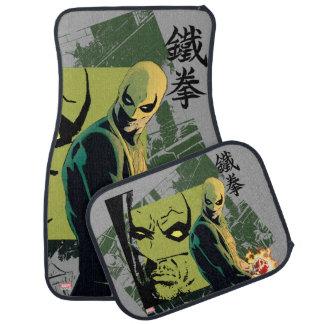 Iron Fist Comic Book Graphic Car Mat