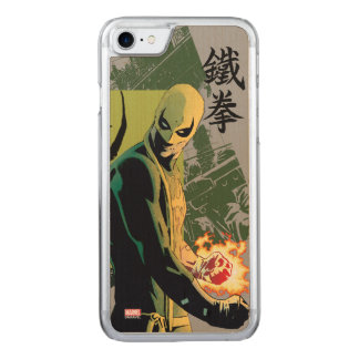 Iron Fist Comic Book Graphic Carved iPhone 7 Case