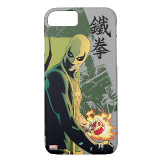 Iron Fist Comic Book Graphic iPhone 7 Case