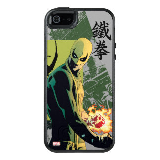 Iron Fist Comic Book Graphic OtterBox iPhone 5/5s/SE Case