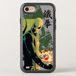 Iron Fist Comic Book Graphic OtterBox Symmetry iPhone 7 Case