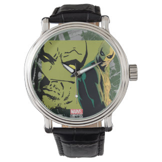 Iron Fist Comic Book Graphic Watch
