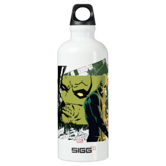 Iron Fist Comic Book Graphic Water Bottle