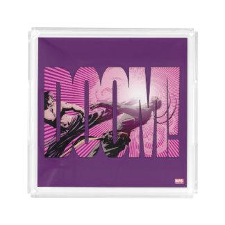 Iron Fist Doom Acrylic Tray