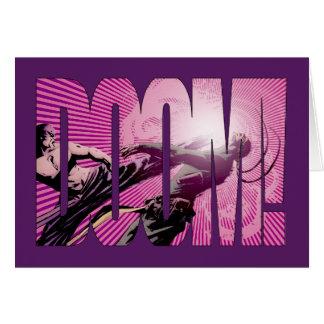 Iron Fist Doom Card