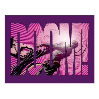 Iron Fist Doom Postcard