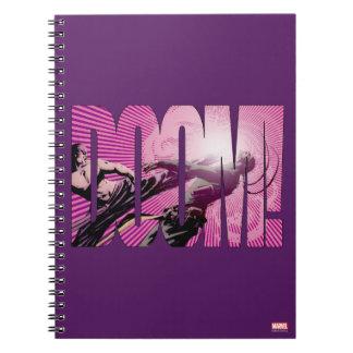 Iron Fist Doom Spiral Notebook