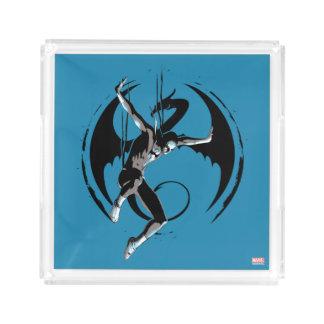 Iron Fist Dragon Landing Acrylic Tray