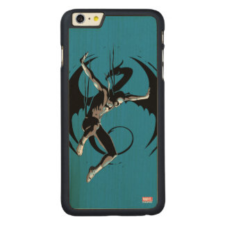 Iron Fist Dragon Landing Carved Maple iPhone 6 Plus Case
