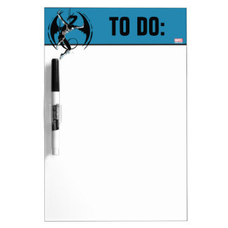 Iron Fist Dragon Landing Dry Erase Board