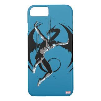 Iron Fist Dragon Landing iPhone 7 Case