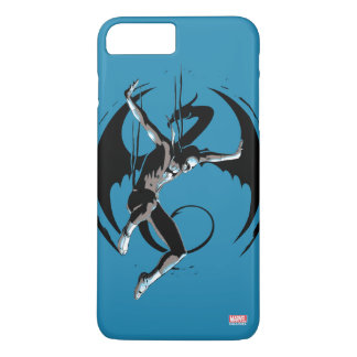 Iron Fist Dragon Landing iPhone 8 Plus/7 Plus Case