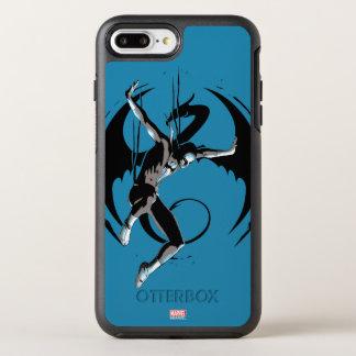Iron Fist Dragon Landing OtterBox Symmetry iPhone 8 Plus/7 Plus Case