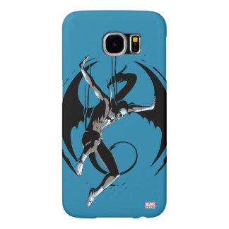 Iron Fist Dragon Landing Samsung Galaxy S6 Cases
