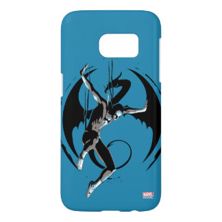 Iron Fist Dragon Landing Samsung Galaxy S7 Case