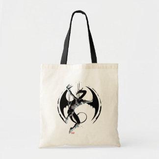 Iron Fist Dragon Landing Tote Bag