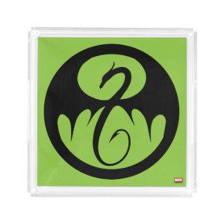 Iron Fist Logo Acrylic Tray