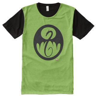 Iron Fist Logo All-Over-Print T-Shirt