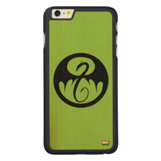 Iron Fist Logo Carved Maple iPhone 6 Plus Case