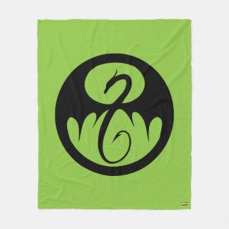 Iron Fist Logo Fleece Blanket