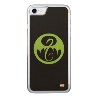 Iron Fist Logo - Green Carved iPhone 7 Case