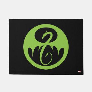 Iron Fist Logo - Green Doormat