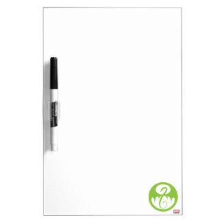 Iron Fist Logo - Green Dry Erase Board