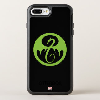 Iron Fist Logo - Green OtterBox Symmetry iPhone 8 Plus/7 Plus Case