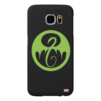 Iron Fist Logo - Green Samsung Galaxy S6 Cases