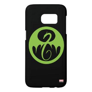 Iron Fist Logo - Green Samsung Galaxy S7 Case