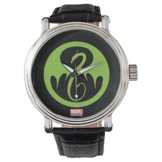 Iron Fist Logo - Green Watch